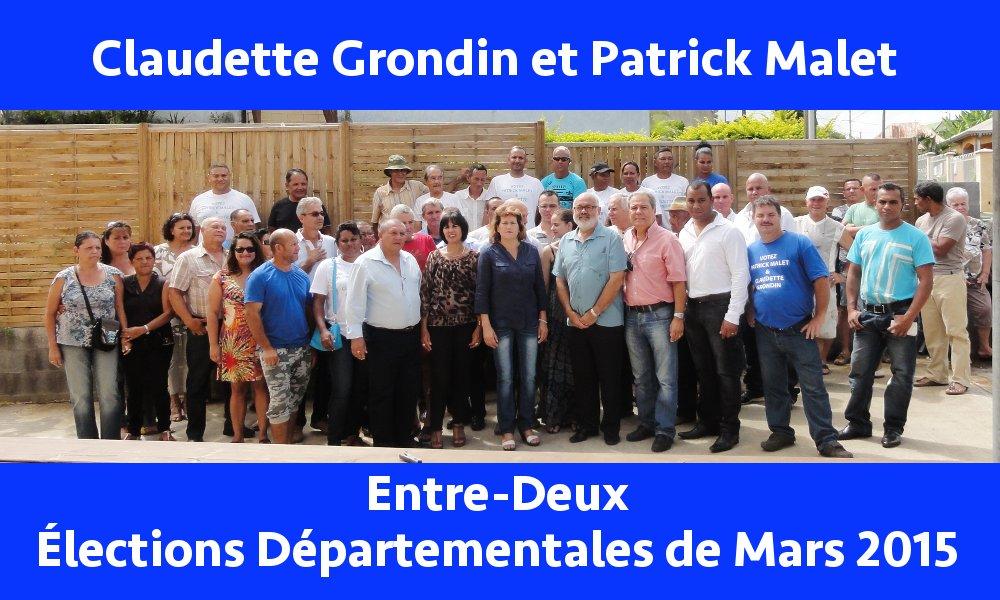 Entre-Deux : Claudette Grondin et Patrick Malet