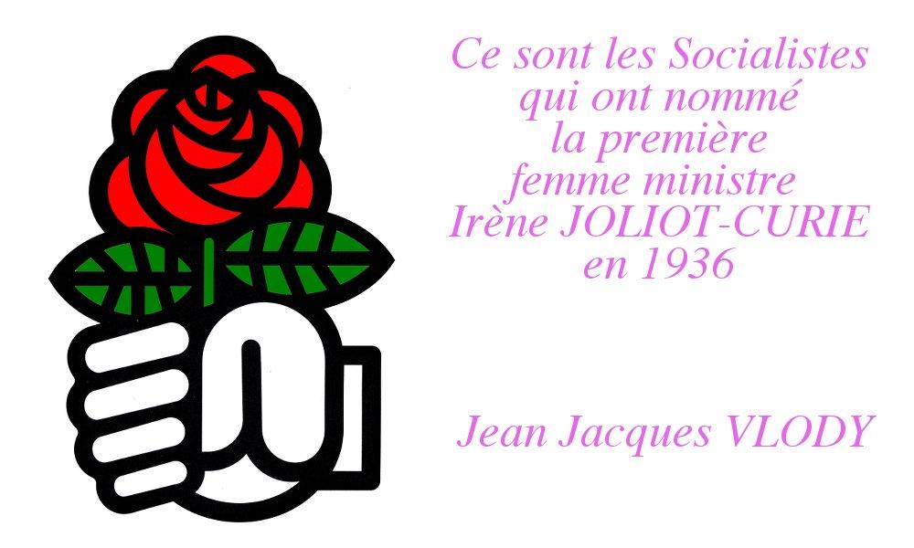 La place des femmes en politique et les droits des femmes : un combat socialiste !