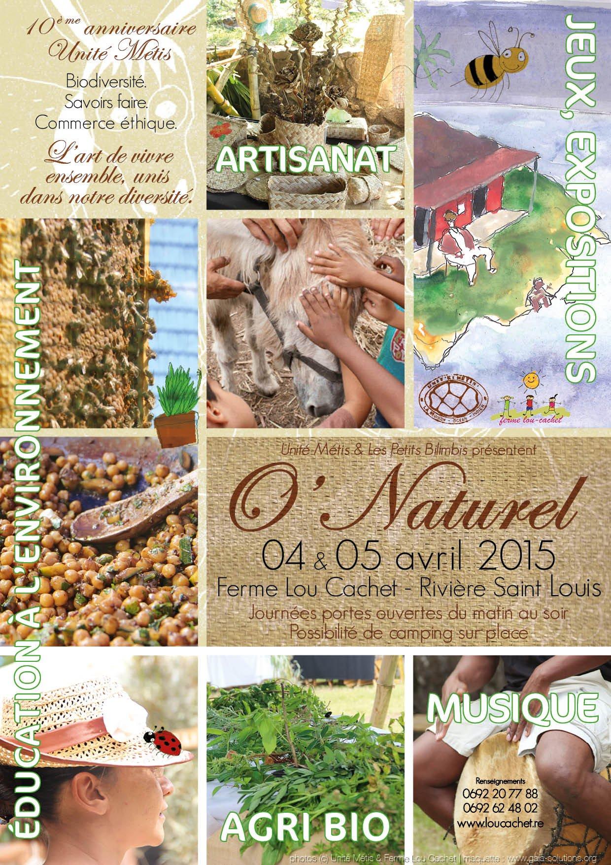 'O'Naturel' : L'événement à Lou Cachet