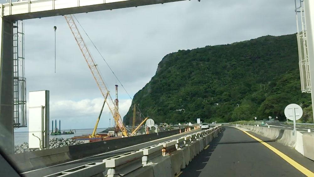 La Nouvelle Route du Littoral : un chantier bien en cours