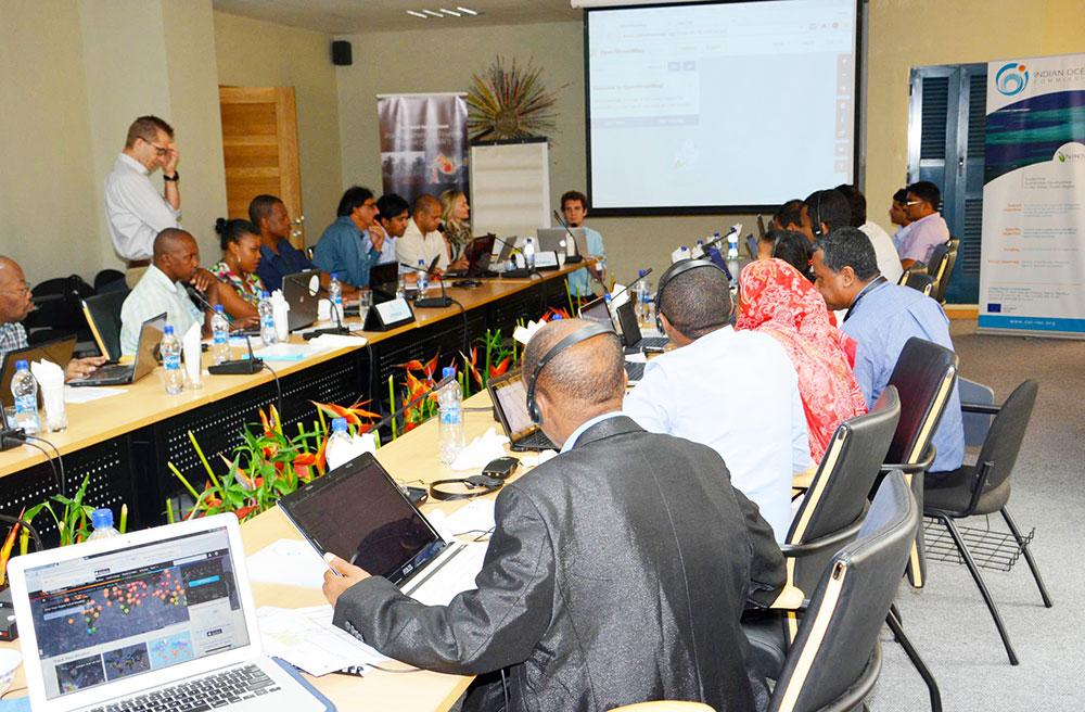 Vue d'ensemble des participants au lancement du SWIO RAFI