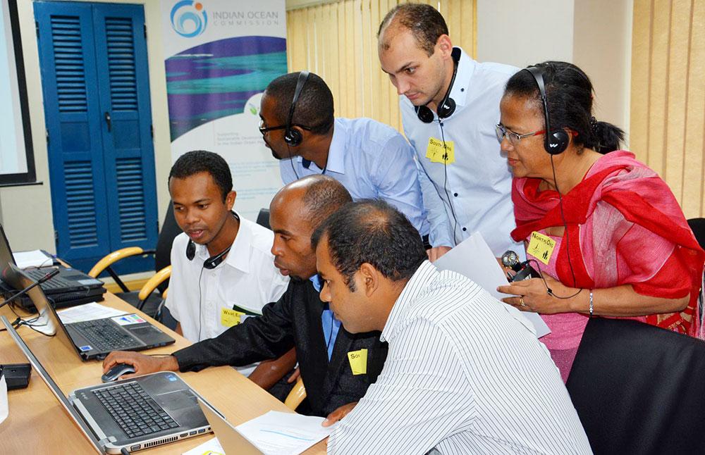 Exercice de simulation lors du lancement du SWIO RAFI