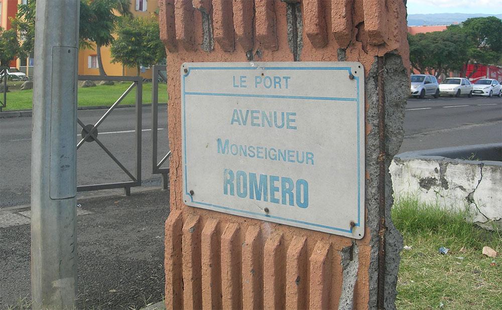 Un hommage réunionnais à Mgr Romero