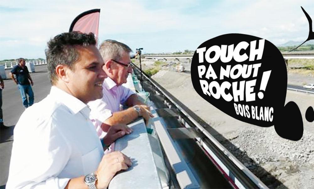 RÉCEPTION DU COLLECTIF TOUCH PAS NOUT ROCHE BOIS BLANC PAR LE PRÉSIDENT DE RÉGION