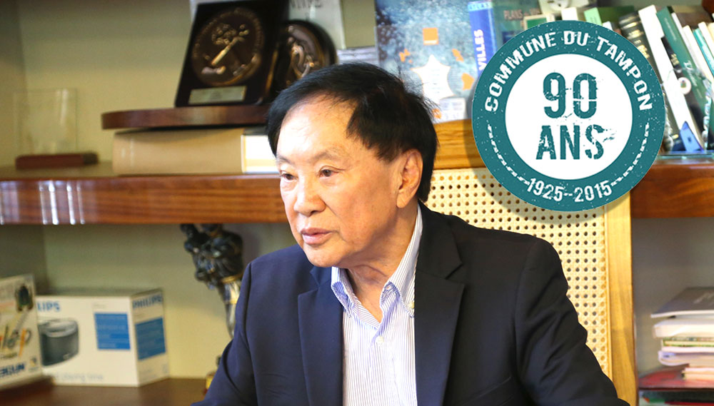 André Thien Ah Koon, s'associe à la mobilisation de l'Association des Maires de France