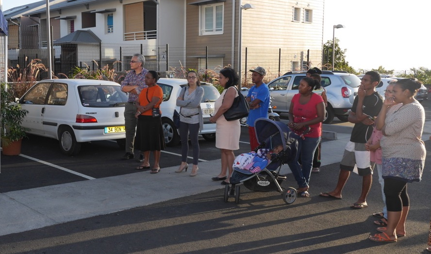 Des logements sociaux attribués à 41 familles à la Plaine Saint-‐Paul