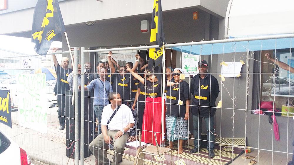 Mayotte : Toujours pas de médaille d'or, mais toujours en grève