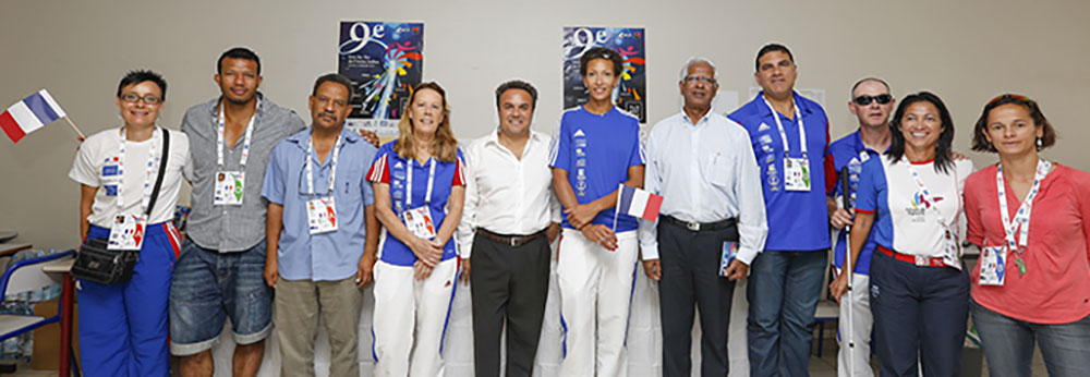 Rencontre avec les athlètes des Jeux des Iles de l'océan Indien