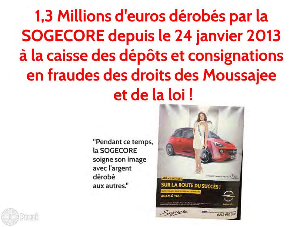"""Affaire Moussajee : """"LA VÉRITÉ EST EN MARCHE ET PERSONNE NE POURRA L'ARRÊTER"""""""