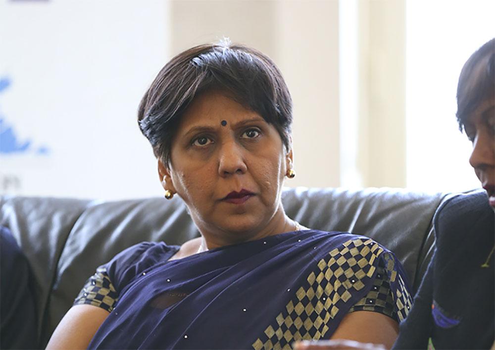 La Ministre Mauricienne Leela Devi DOOKUN-LUCHOOMUN