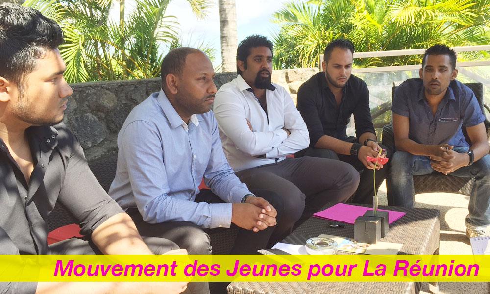 Le Mouvement des Jeunes pour La Réunion reçu par Thierry ROBERT