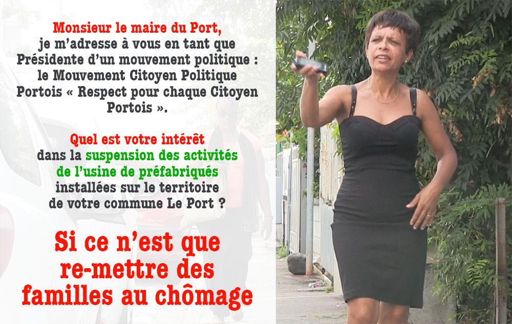 Usine de préfabriqués pour la NRL : lettre ouverte à Monsieur Le Maire du Port