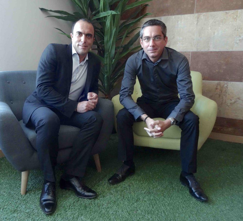 A gauche, Manuel Warlop, Président du groupe Globalliance, avec le Directeur général de Isodom, Yannick Berezaie.