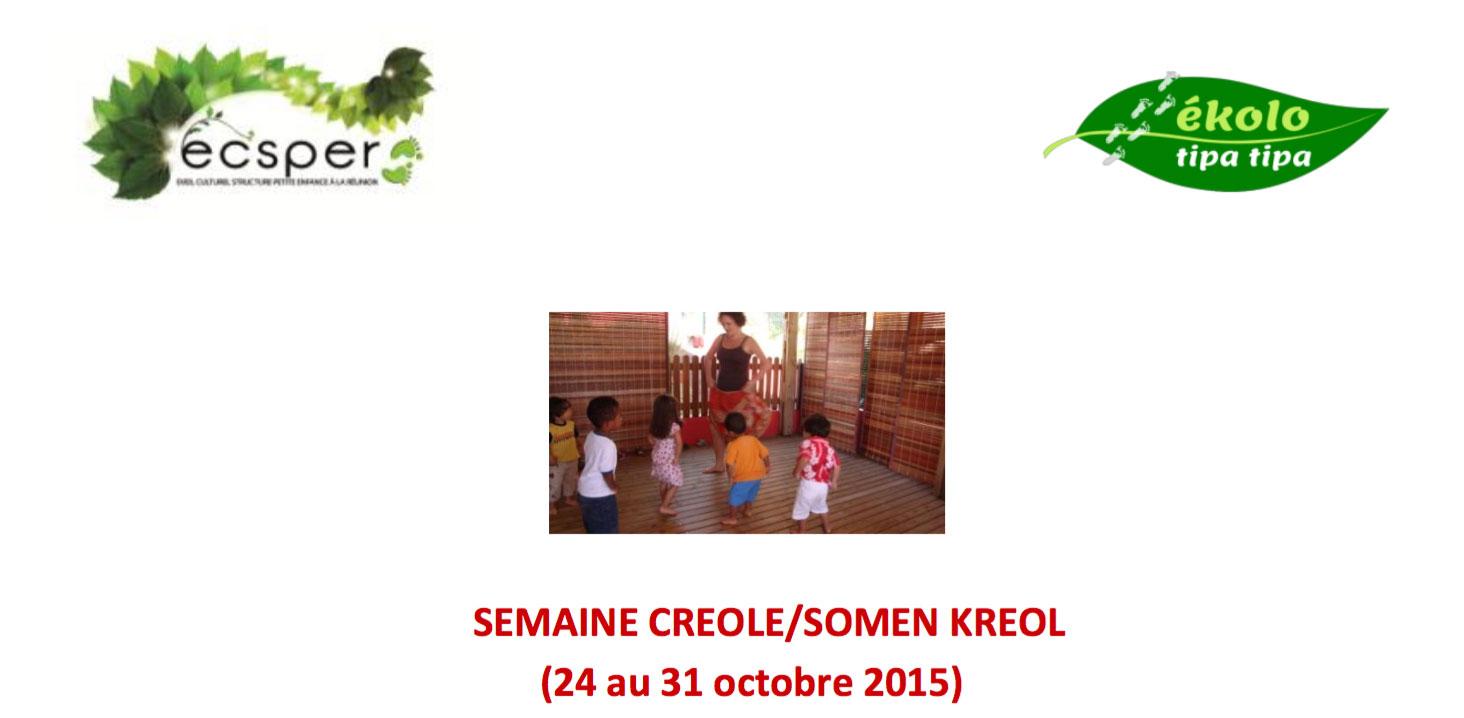 SEMAINE CREOLE/SOMEN KREOL