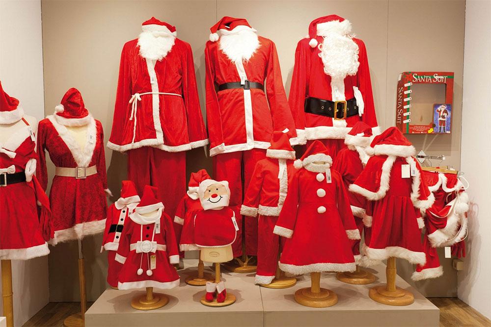 Et le père Noël, il s'habille chez qui ?