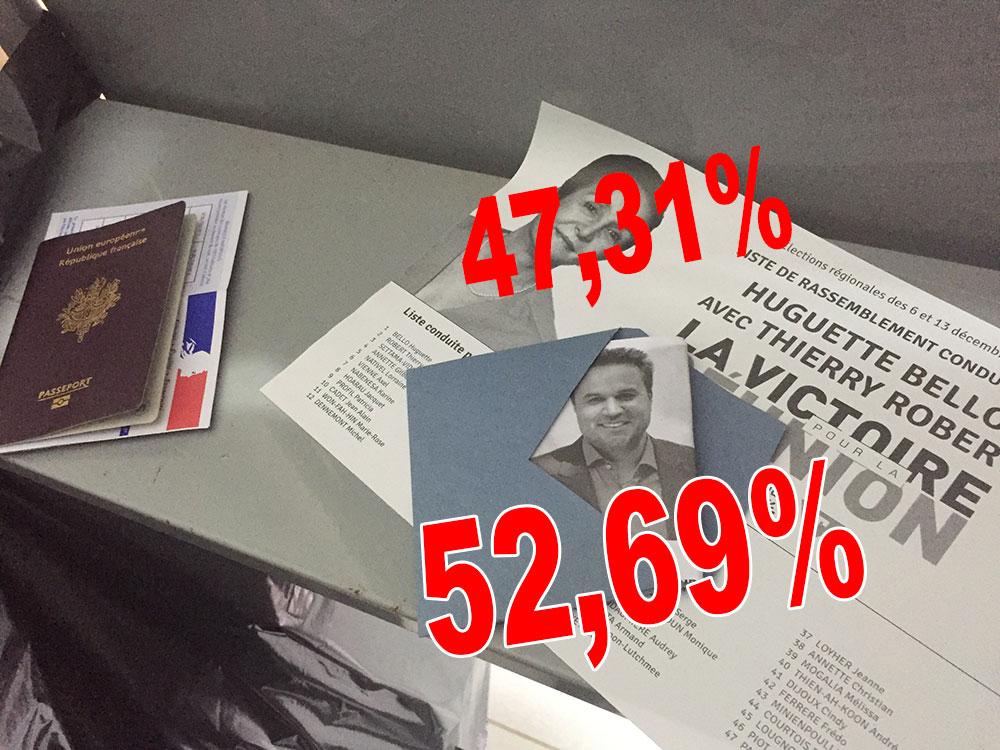 Didier ROBERT, le meilleur d'après les électeurs de La Réunion