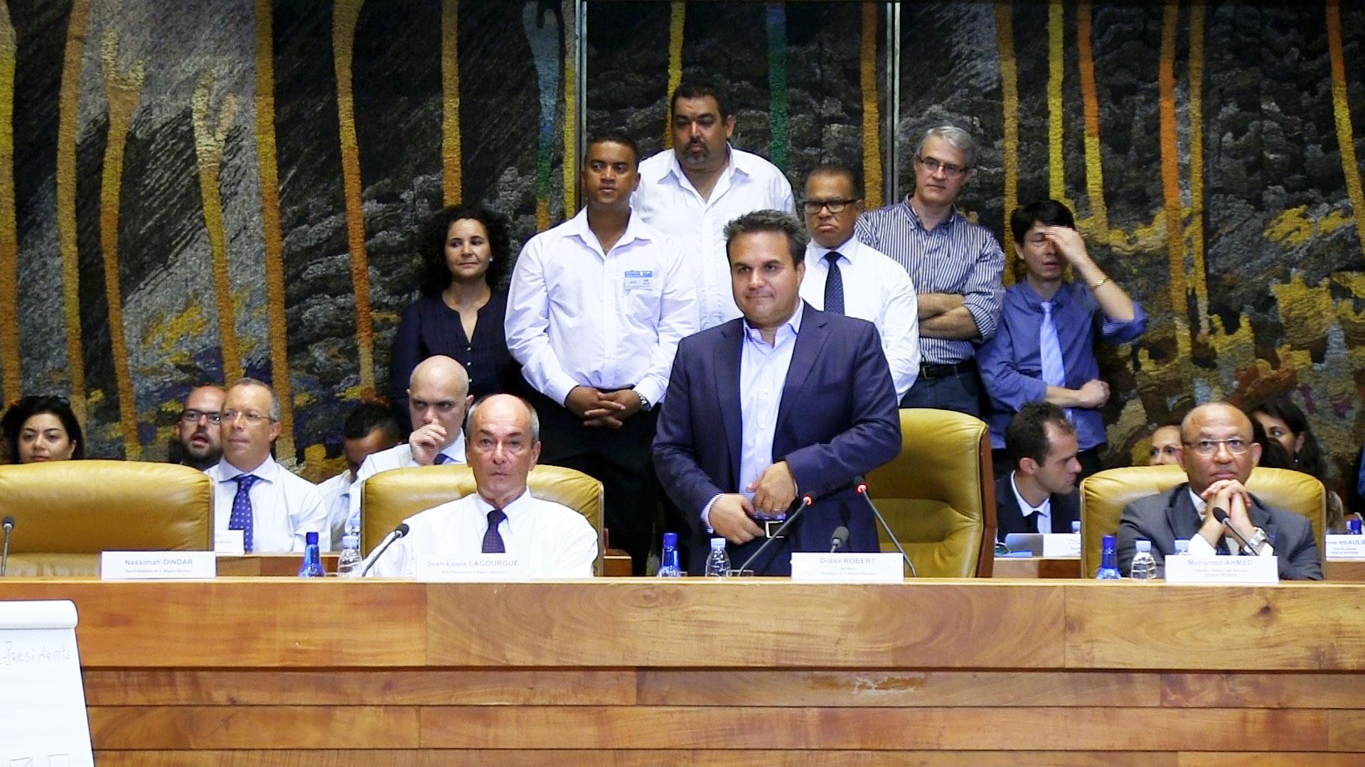 Discours du Président de Région en Assemblée plénière