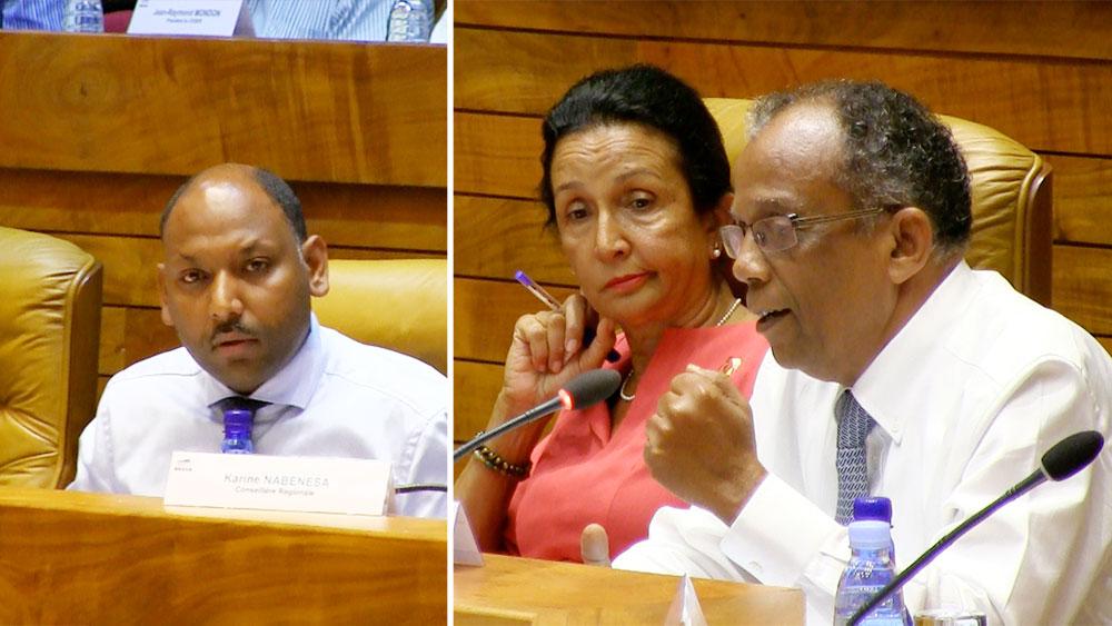 Région : Les élus de l'opposition se croient encore en campagne