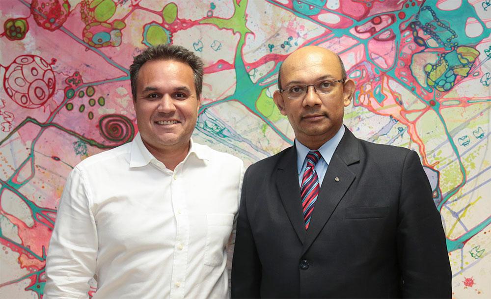 Le Président de Région recoit le Ministre des affaires étrangères de La République de Maurice