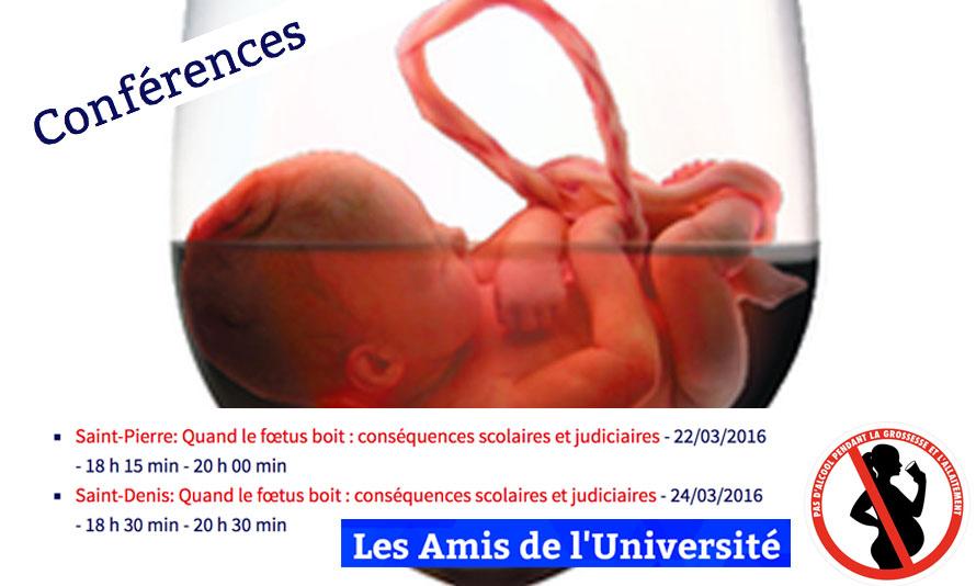 Quand le fœtus boit : Conséquences scolaires et judiciaires