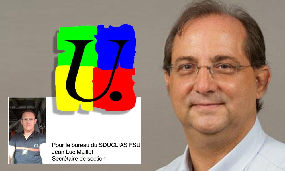 SDUCLIAS FSU : Bravo à Stéphane FOUASSIN