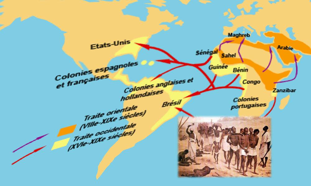 La dramatique traite transatlantique des esclaves