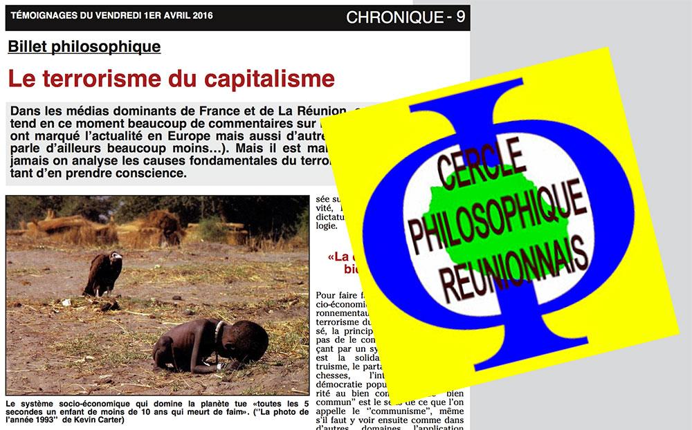 CULTURE : Goûter-philo sur l'esclavage et débat philosophique sur la souffrance au travail