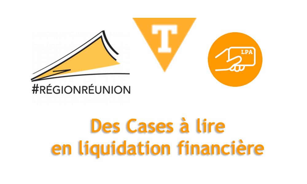 [ Communiqué du LPA ] Des Cases à lire en liquidation financière