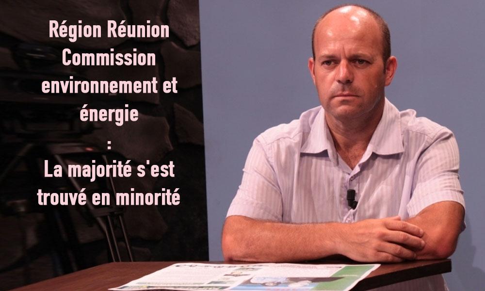 Région Réunion Commission environnement et énergie : La majorité s'est trouvé en minorité