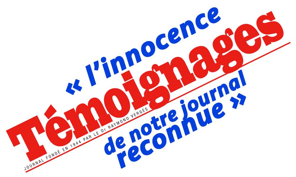 Huguette Bello perd définitivement son procès contre Témoignages, l'innocence de notre journal reconnue