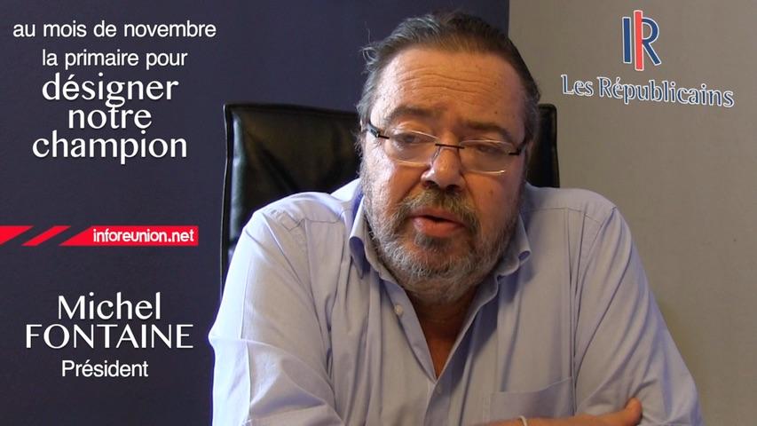 Michel Fontaine : Journée de travail consacrée aux Outremers au siège des Républicains