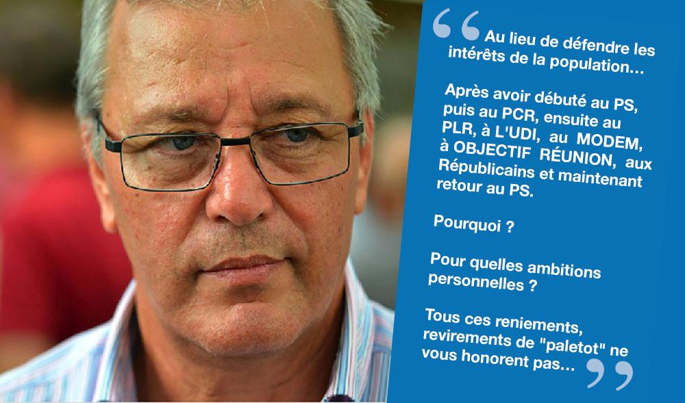 Déclaration du Maire Maurice GIRONCEL
