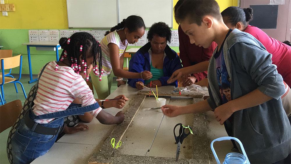 Saint-Leu : Marmailles en vacances