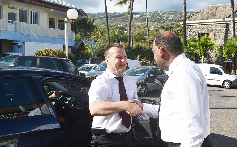 Saint-Leu : Visite de courtoisie du nouveau sous-préfet de Saint-Paul