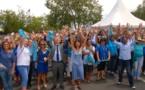 150 personnes réunies dans la Chaîne de l'Espoir organisée par l'Aurar pour la Journée Mondiale du Diabète