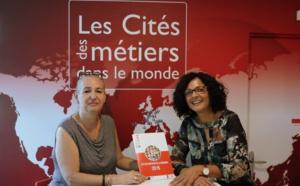 Nathalie Bassire, nouvelle Présidente de la Cité des métiers de La Réunion
