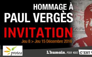 Paul VERGES au Grand Salon de l'Hotel de Ville de Saint-Denis