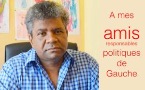 Jean-Hugues RATENON : A mes amis responsables politiques de Gauche