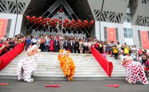 Fête des lanternes : la Région Réunion signe une convention Culture triennale avec la Fédération des Associations Chinoises.