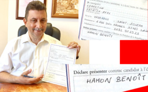 Patrick LEBRETON : Parraine fièrement Benoît HAMON