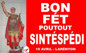 Fête officielle Réunionnaise : SINTÉSPÉDI
