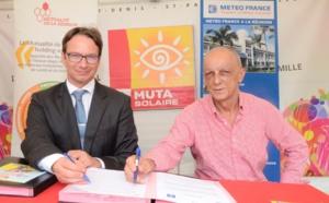 Météo France et La Mutualité de La Réunion ensemble  contre le risque solaire