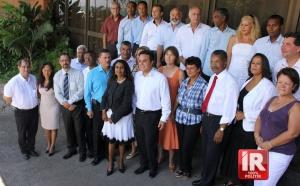 Les 25 candidats de La Réunion enconfiance