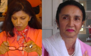 Huguette Bello se démarque deNassimah Dindar