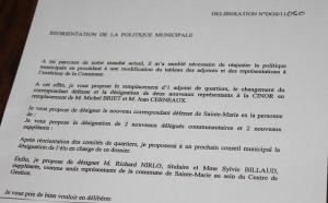 """Ste-Marie : """"Les Régionales 2010 font encore des dégâts à Droite"""""""