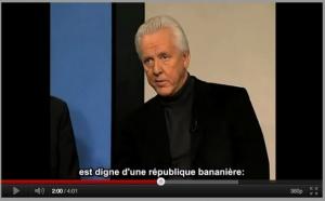 """La France : """"une véritable République Bananière"""""""