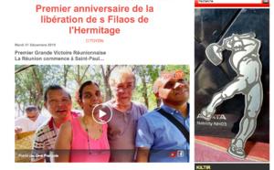 Premier anniversaire de la libération des Filaos de l'Hermitage