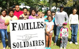 Familles Solidaires en pique-nique partage au Bocage