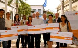 Cinq premiers projets sélectionnés et financés par le fonds de dotation Philancia