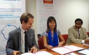 Signature de conventions de partenariat L'Aurar, le CHU et le GHER collaborent pour une prise en charge optimale des patients